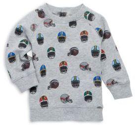 Stella McCartney Baby's Allover Helmet Print Cotton Sweatshirt