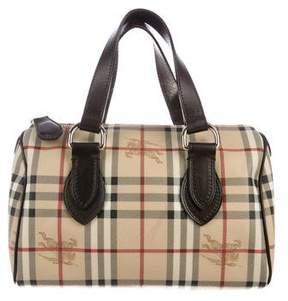 Burberry Haymarket Check Handle Bag