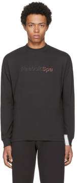 Cottweiler Reebok × Black Spa Long Sleeve Mock T-Shirt