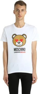 Moschino Underbear Stretch Cotton Jersey T-Shirt
