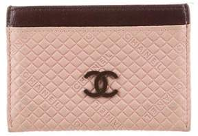 Chanel Quilted CC Cardholder