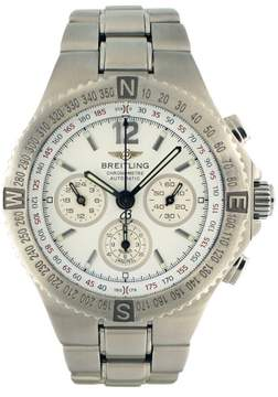 Breitling Hercules A39362 Stainless Steel Automatic 45mm Mens Watch