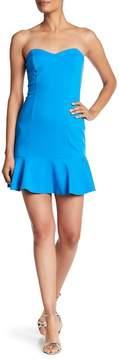 Amanda Uprichard Rocky Sweatheart Dress