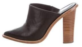 Tibi Windsor Leather Mules