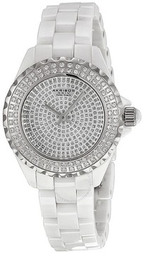 Akribos XXIV Ceramic Ladies Watch