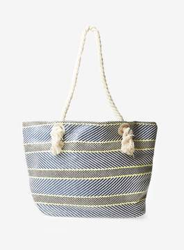 Dorothy Perkins Navy Rope Shopper Bag