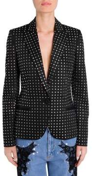 Moschino Allover Stud Blazer