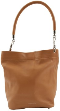 Christopher Kane Camel Leather Handbag