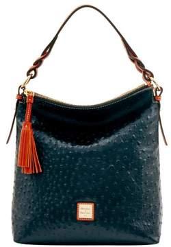 Dooney & Bourke Ostrich Small Sloan Bag