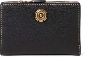 Ralph Lauren Compact Pebbled Leather Wallet