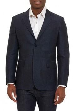 Robert Graham Men's Varun Mix Weave Sport Coat