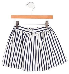 Rachel Riley Girls' Striped Skirt