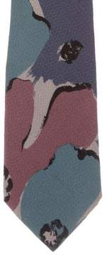 Fendi Printed Silk Tie