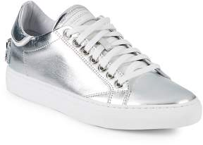 John Galliano Women's Metallic Leather Low-Top Sneakers