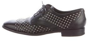 Chanel Studded Derby Shoes