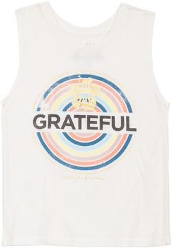 Spiritual Gangster Kids Girls Grateful Muscle Tank 8158338
