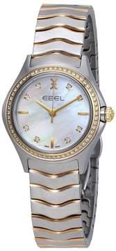 Ebel Wave Diamond Mother of Pearl Dial Ladies Watch