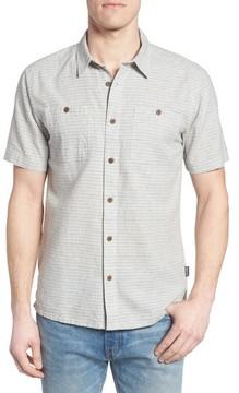 Patagonia Men's 'Back Step' Regular Fit Check Short Sleeve Sport Shirt