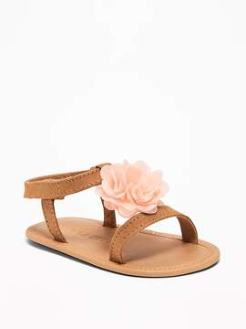 Old Navy Chiffon Rosette Sandals for Baby