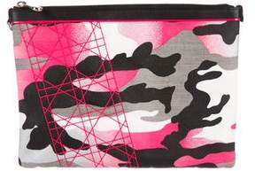 Christian Dior Anselm Reyle Camouflage Pouch