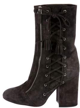 Laurence Dacade Suede Lace-Up Boots