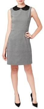 Betsey Johnson Women's Lace Collar Shift Dress