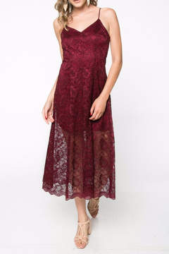 Everly Lace Midi Dress