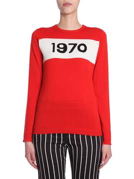 Bella Freud Sweater With 1970 Intarsia