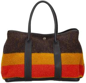 Hermes Garden Party wool tote - MULTICOLOUR - STYLE