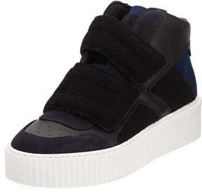 Maison Margiela Colorblock Platform High-Top Sneaker