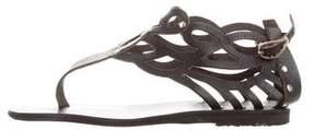 Ancient Greek Sandals Medea Cutout Sandals