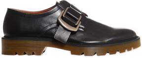 Givenchy Cruz Leather Monk Strap Shoes