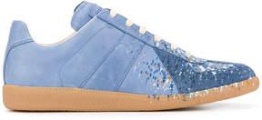 Maison Margiela paint splattered sneakers