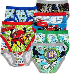 JCPenney LICENSED PROPERTIES Pixar 7-pk. Briefs - Toddler Boys 2t-4t