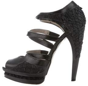 Jason Wu Multistrap Platform Sandals