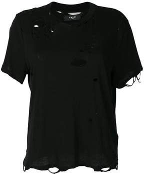 Amiri distressed T-shirt