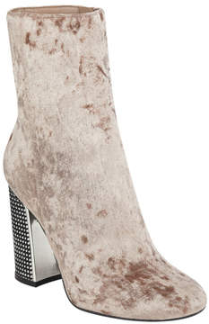 GUESS Lexilee Studded Metallic Booties