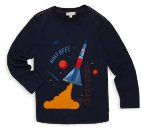 Paul Smith Toddler's, Little Boy's, & Boy's Space Rocket Long Sleeve Cotton Tee
