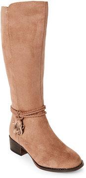 Steve Madden Kids Girls) Natural J-Tassey Tasseled Riding Boots