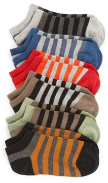 Tucker + Tate Boy's Assorted 6-Pack No-Show Socks