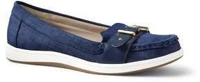 Lands' End Lands'end Womens Buckle Boat Shoes