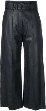 Drome wide leg cropped trousers
