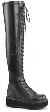 Demonia Women's Emily 375 Thigh High Boot