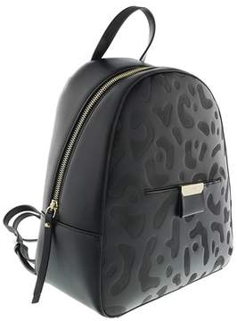 Roberto Cavalli Backpack Sofia 005 Black Backpack.