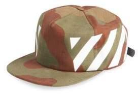 Off-White Diagonal Camouflage Cap