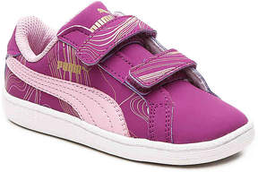 Puma Girls Smash Fun Infant & Toddler Sneaker