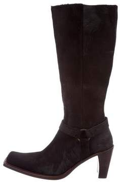 Buttero Ponyhair Knee-High Boots