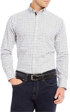 Daniel Cremieux Graph Two-Tone Long-Sleeve Woven Shirt