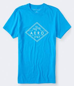 Aeropostale Diamond Skyline 1987 Graphic Tee***