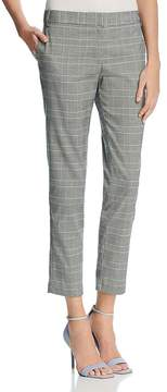 Aqua Glen Plaid Straight Crop Pants - 100% Exclusive